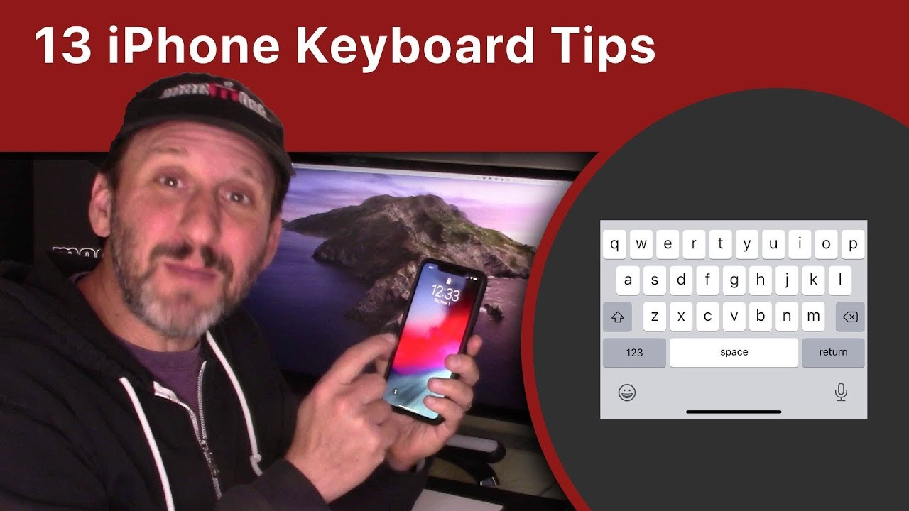 13 iPhone Keyboard Tips