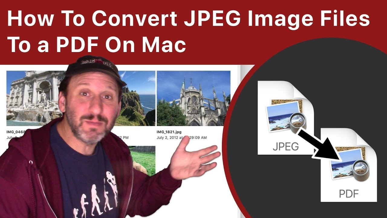How To Convert JPEG To PDF On Mac