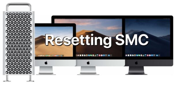 How to Reset SMC on iMac Pro, Mac Pro, Mac mini, iMac with security chips