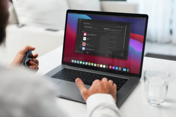 How to Manage Subscriptions on Mac