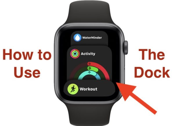 How to use the Dock