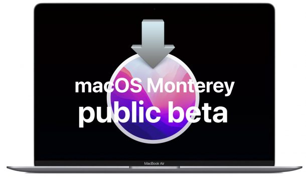 How to install macOS Monterey public beta