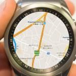 Smartwatch, Google Maps