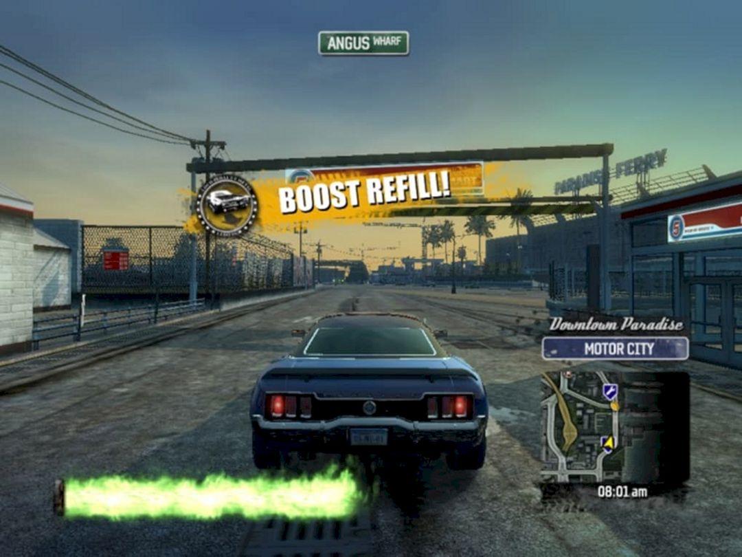 Game Mobil Burnout Paradise