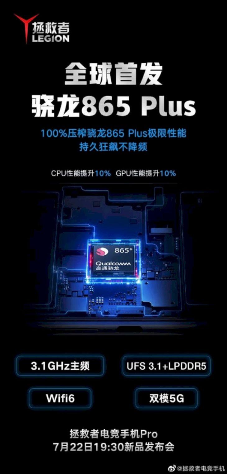 Poster Peluncuran Lenovo Legion