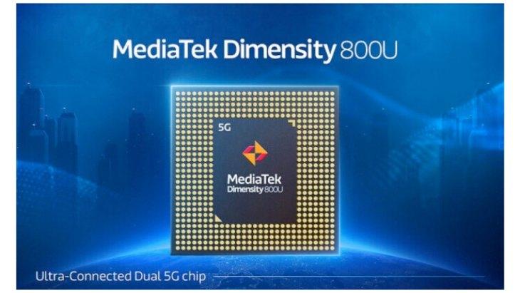realme Hadir dengan Diotaki Dimensity 800U