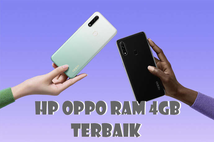 3 HP OPPO RAM 4GB Terbaik 2021