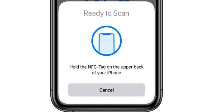 Memakai fitur NFC Di iPhone