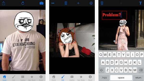 Aplikasi Pembuat Meme Terbaik iOS