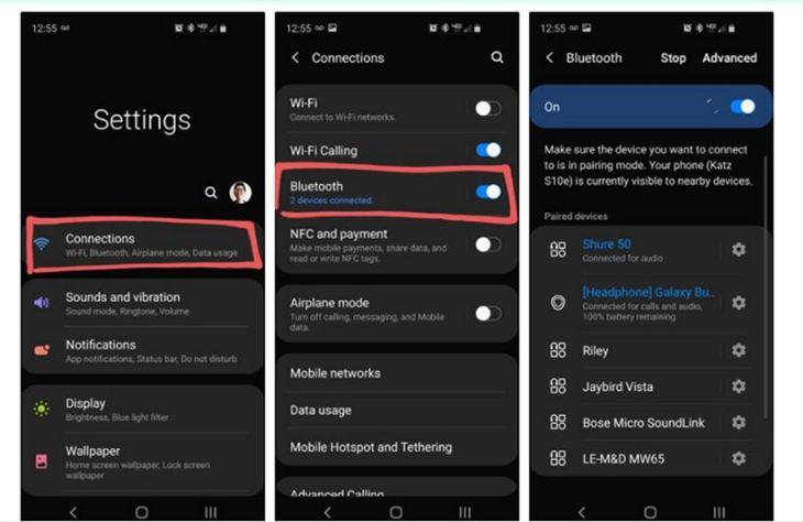 Mengaktifkan Samsung Dual Audio