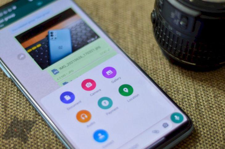 Cara Mudah Mengirim Media dengan Ukuran Full pada WhatsApp