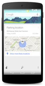Google-Parking-Location