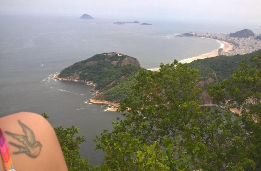 Vista dal Pan di Zucchero di Rio de Janeiro