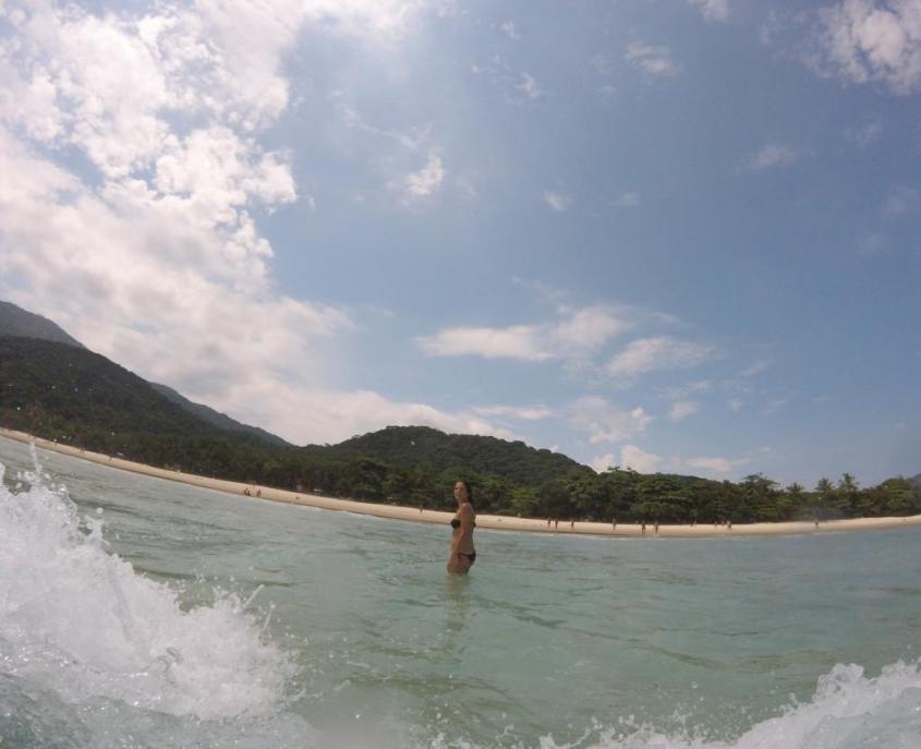 La bellissima spiaggia di Lopez Mendes ad Ilha Grande