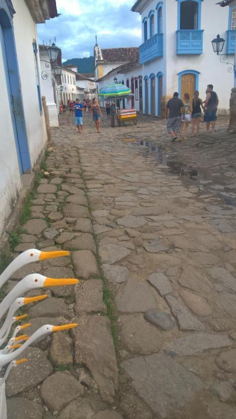 Centro storico di Paraty in Brasile