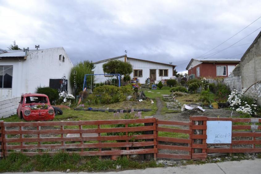 Tipica casa di Ushuaia nella Tierra del Fuego