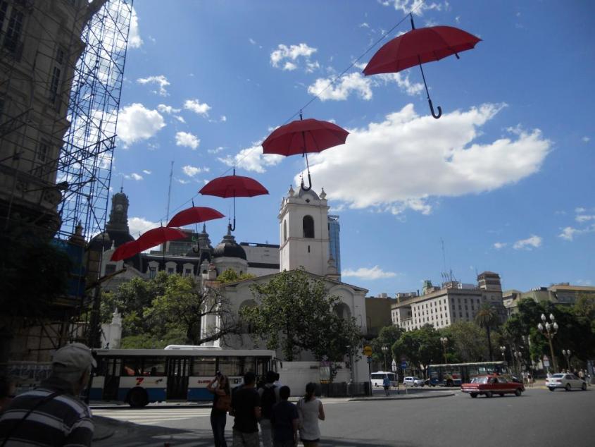 Quartiere San Telmo a Buenos Aires