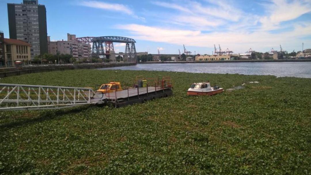 Molo al quartiere La Boca di Buenos Aires
