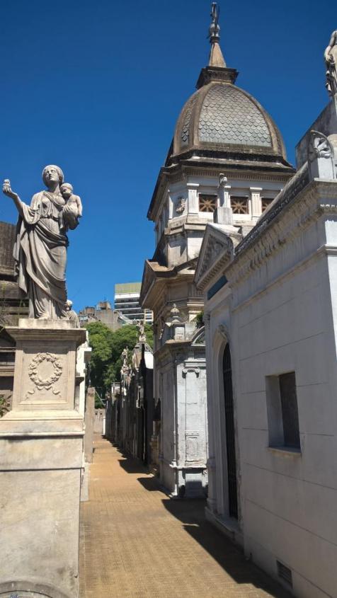 Cimitero de La Recoleta di Buenos Aires