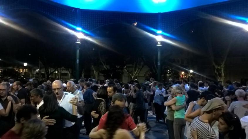 Milonga ingresso libero di Belgrano a Buenos Aires