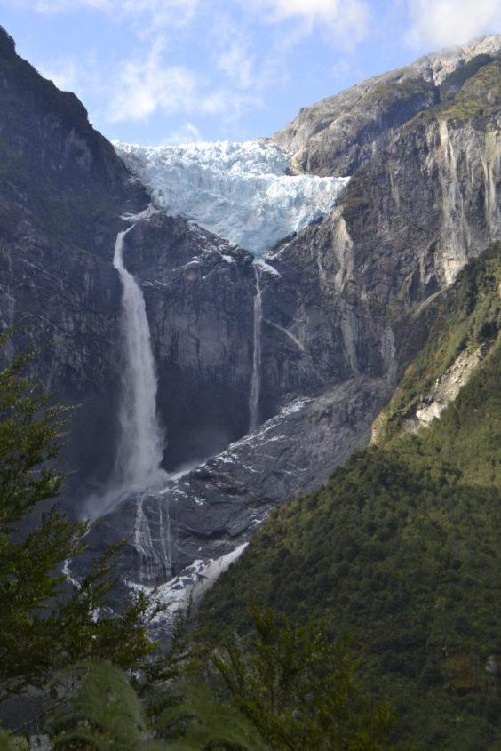 Il Ventisquero Colgante nel Parque Queulat in Cile sulla Carretera Austral