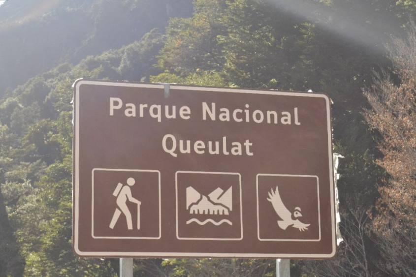 Cartello Parco Nazionale di Queulat