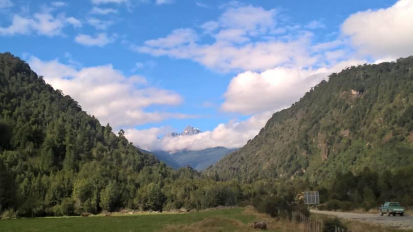 Montagna Vergine lungo la Carrettera Austral per Futaleufu