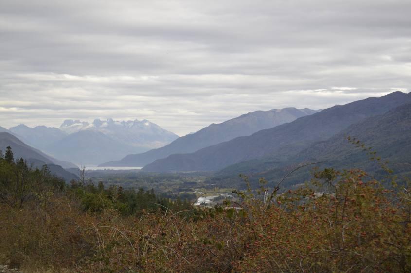 Panorama durante il percorso a La Cabeza del Indio a El Bolson Argentina