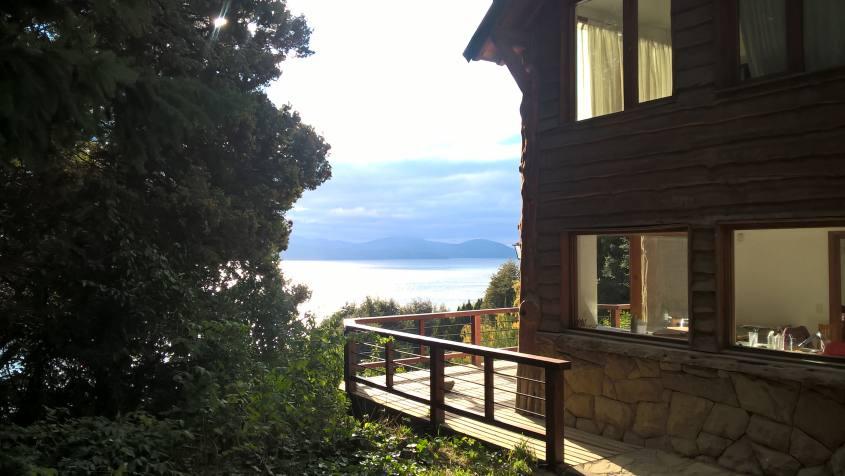 Casa con vista sul lago a San Carlos de Bariloche in Argentina