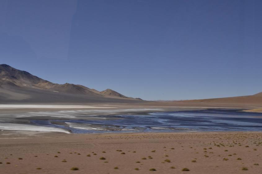 Paesaggi del deserto di Atacama in Cile