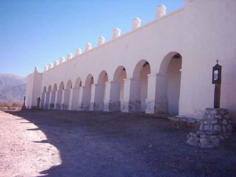 Cimitero nel punto panoramico di Cachi in Argentina