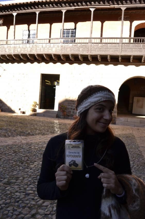 Pass per fotografie al Museo della Casa della Moneta di Potosì in Bolivia