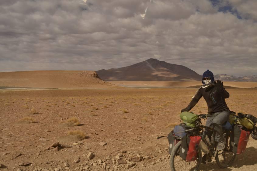 In bicicletta verso il Salar di Uyuni in Bolivia