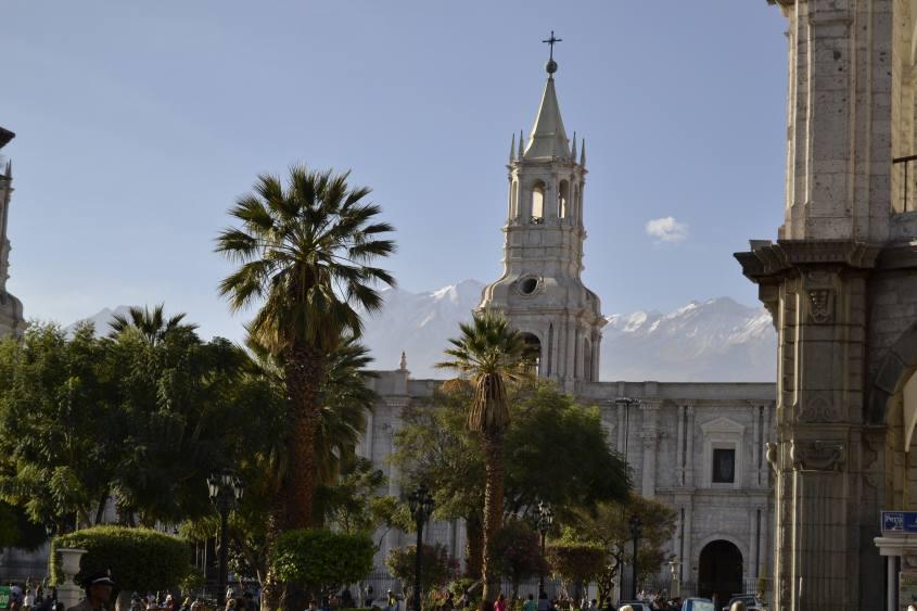 Piazza de Armas di Arequipa in Perù