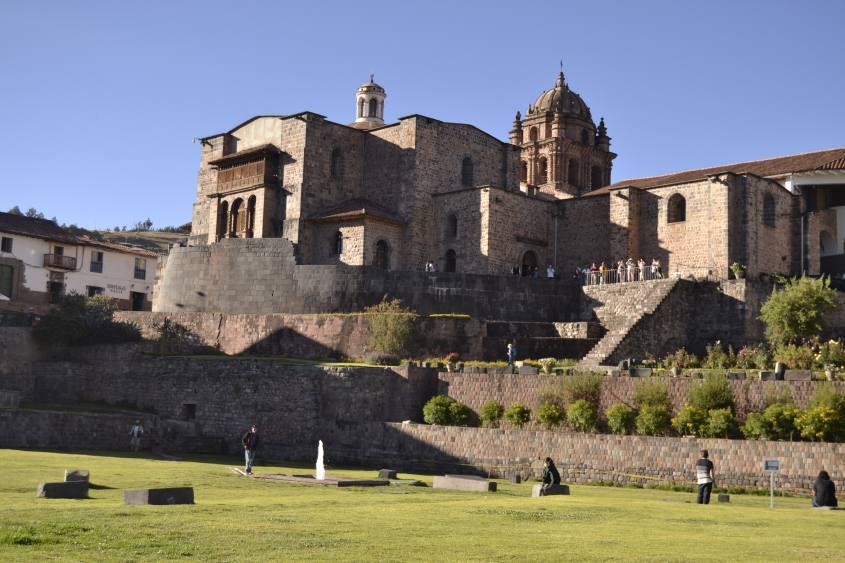 Museo Qorickancha nel centro storico di Cusco in Perù