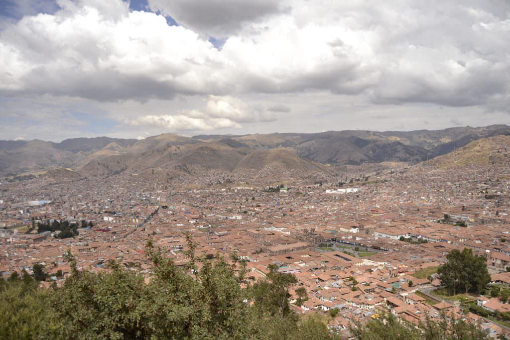 Vista Cristo Blanco Cusco