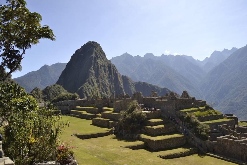 Le rovine di Machu Picchu in Perù