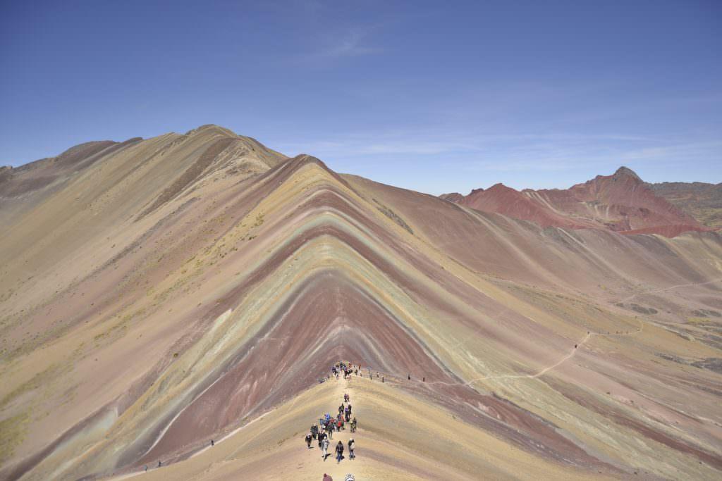 Montagna Arcoiris Vinicunca Cusco