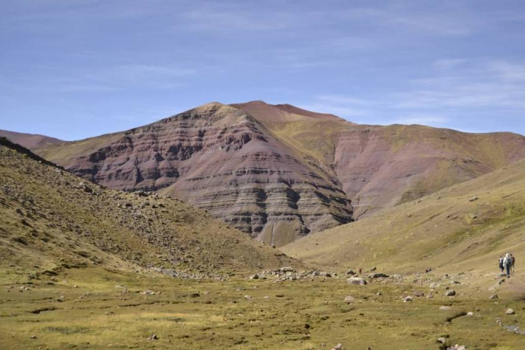 Montagne colorate verso il Vinicunca