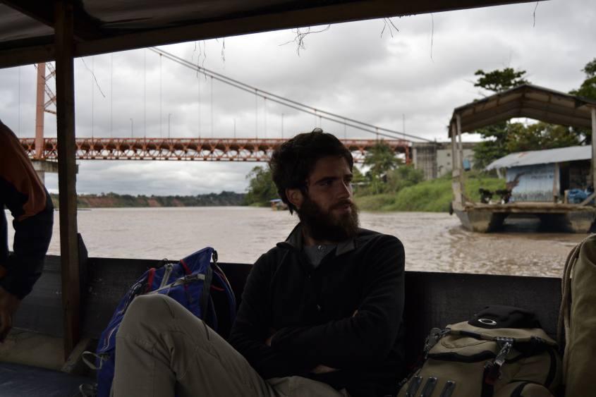 Barca per il viaggio da Puerto Maldonado alla Riserva Tambopata all'interno della Foresta Amazzonica