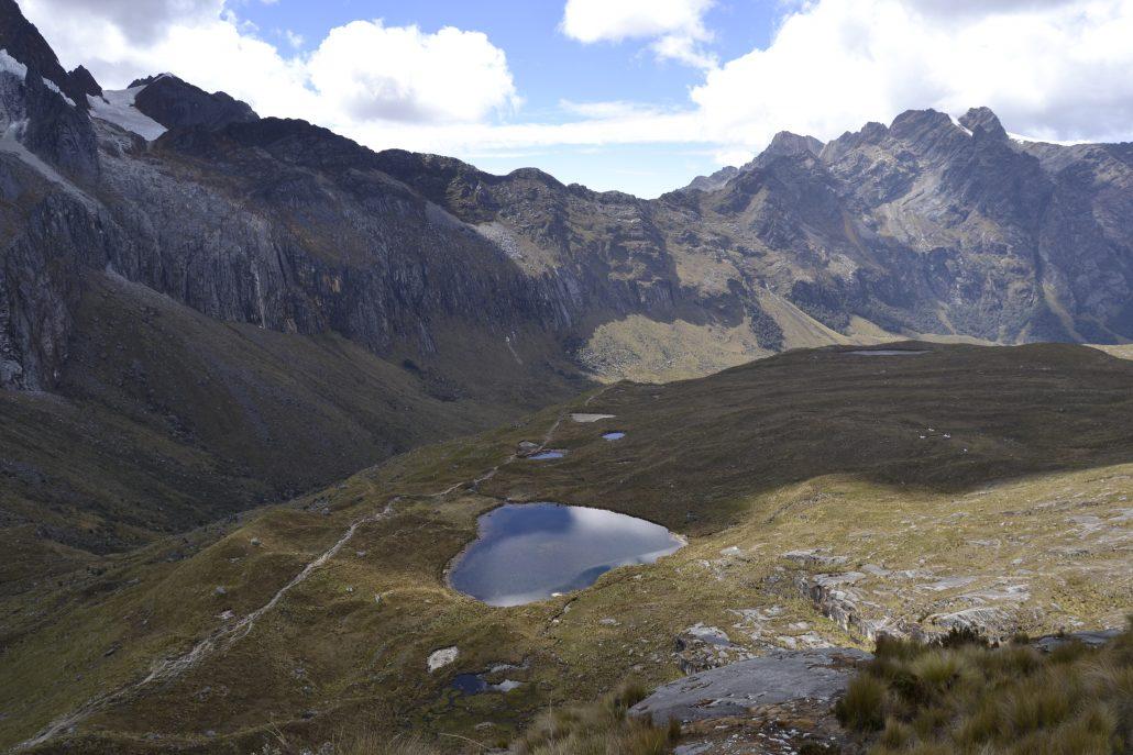 Vista Punta Unión Trekking Santa Cruz