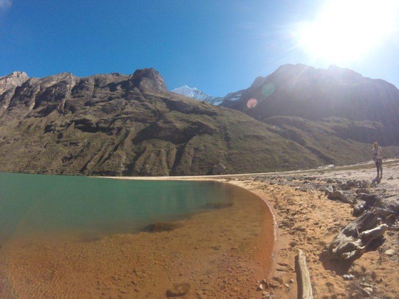 Laguna trekking Santa Cruz Perù