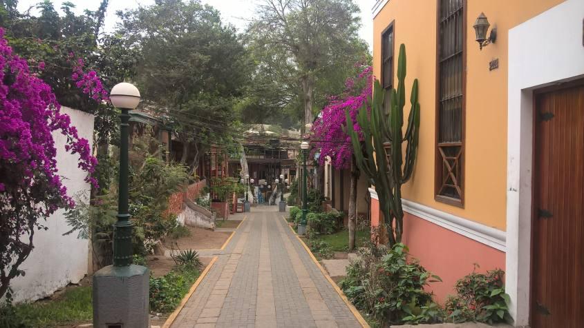 Quartiere Barranco Lima