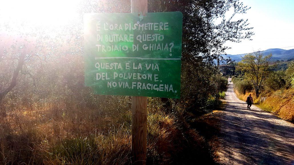 Via Francigena Gambassi - San Gimignano