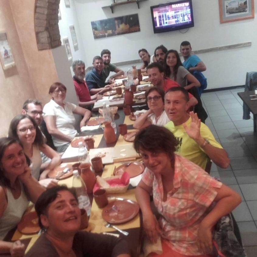 Gruppo Via Francigena a Siena