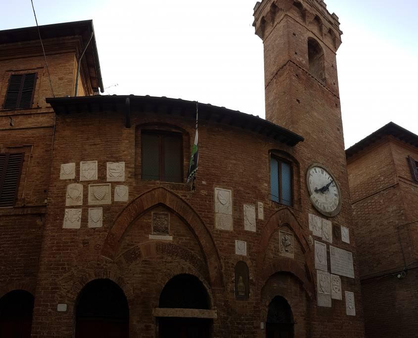 Torre Civica Palazzo Podestriale Buonconvento