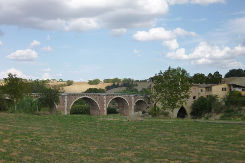 Ponte-dArbia-Via-Francigena