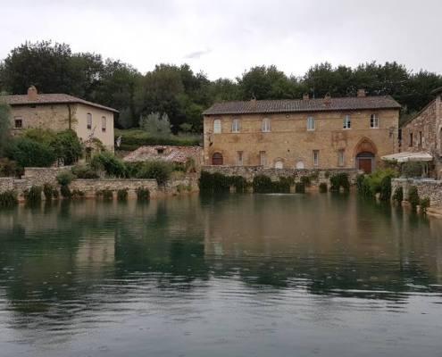 Bagno Vignoni Via Francigena