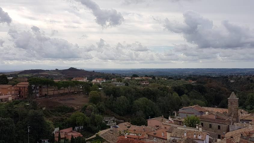 La prima vista su Roma da Formello