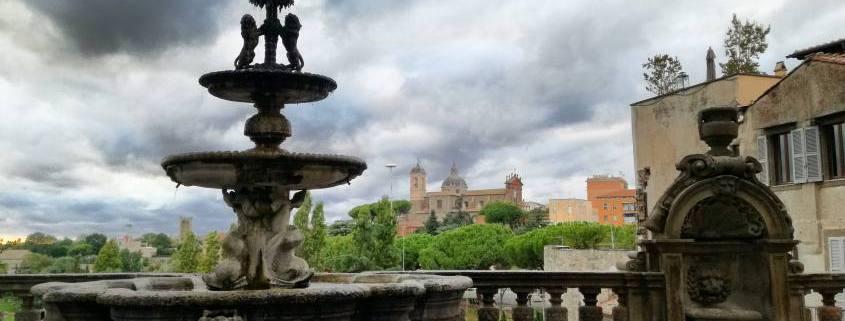 La vista da Palazzo dei priori